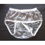 FUUBUU - 2211 PVC Monatsslip Inkontinenz-Schutzhose Gummihose knöpfbar im Schritt
