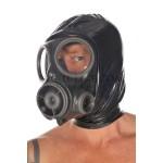 PUL PVC - Gasmaske mit Kapuze  HO06 FITTED GASMASK HOOD