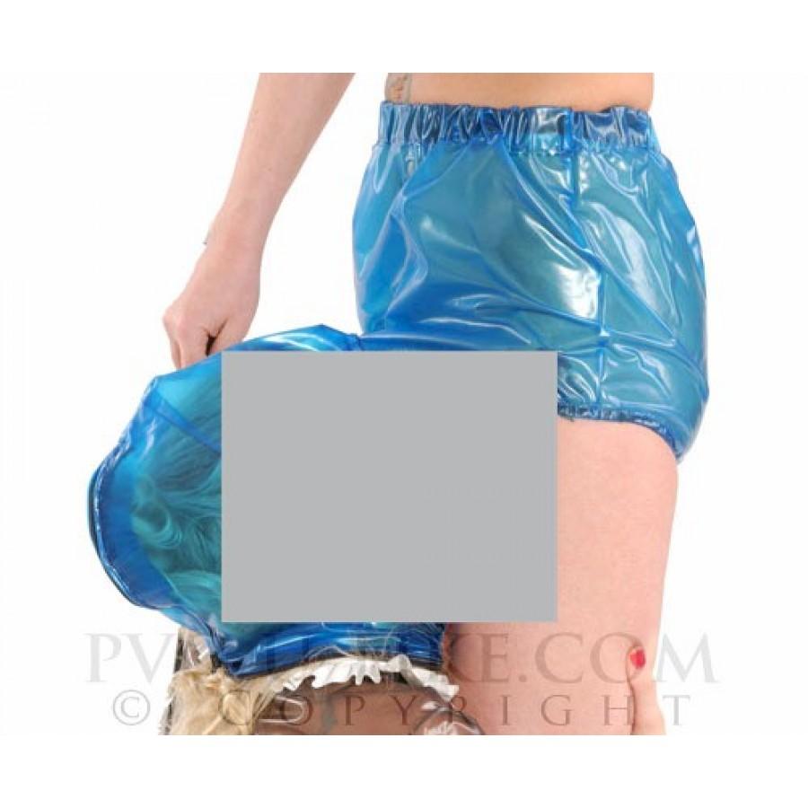PUL PVC - Slip mit Kapuze PA43 MUFF MASK PANTS