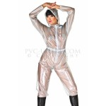 PUL PVC - Overall Regenoverall Jumpsuit Damen SU08 SUIT ONE PIECE LADIES