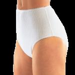 Suprima 1275 - Baumwoll/PU - Inkontinenzschutzhose Windelhose Schlupfform Slip weiß