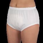 Suprima 1287 - PE/PU - Inkontinenz-Slip Schutzhose Schlupfform weiß