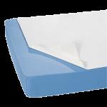 Suprima 3014 - PVC Bettauflage Bettschutz Laken Folienstärke 0,25 mm weiß